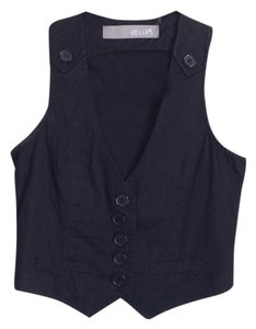 dELiA*s V-neck Fitted Office Classic Vest