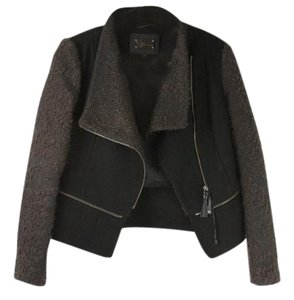 Mackage Jacket Wool Jacket Wool Two Way Jacket Fur Coat