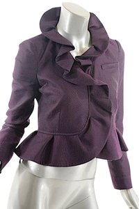 RED Valentino Ruffle Top Purple