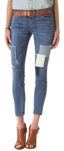 Current/Elliott The Stiletto Skinny Jeans-Distressed