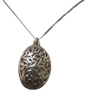 Lois Hill Hand-crafted Silver Pendant