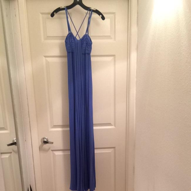 Periwinkle Blue Maxi Dress by BCBGMAXAZRIA Maxi Maxidress Long Longdress Summer Vacation Fashion Style Flowy Flow Designer