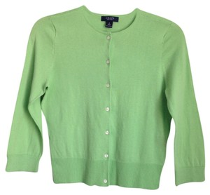 Chaps Green Retro Vintage Cardigan Like New Sweater