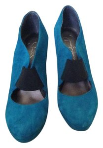 Jessica Simpson Deep teal Pumps