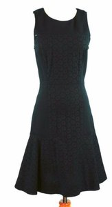 J.Crew Crew Collection 0 Paneled Eyelet Dress