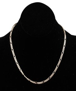 Sterling Silver Italian 18 Curb Chain Necklace Bj04