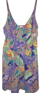 Kenneth Cole Reaction short dress Multicolor Paisley Print Floral Print Summer Spring on Tradesy