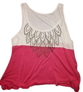 Divided by H&M Top white/pink