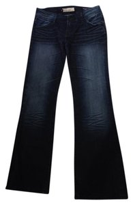 Vigoss Size 30 Dark Collection Boot Cut Jeans-Medium Wash
