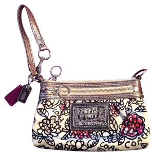 Coach Wristlet in Black, Pink, Whitw