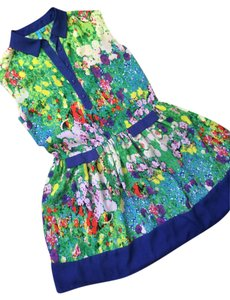 Nanette Lepore short dress floral Sheer Summer on Tradesy