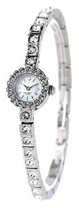 Kate Spade Kate Spade NY 1YRU0418 Women's Tiny Pierre Silver tone Crystals Watch NEW! $250