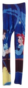 Disney Ariel Little Mermaid Blue Leggings