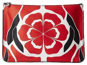 Alexander McQueen Red Clutch