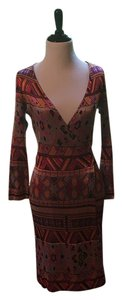 Diane von Furstenberg Dvf Wrap Hippy Dress