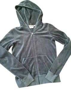 Juicy Couture Jacket Velour Gray Jacket