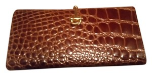 Budd Leather Budd Leather Real Leather Croc Embossed