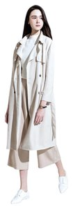 Meier Q Suede Trench Belted Zara Trench Coat
