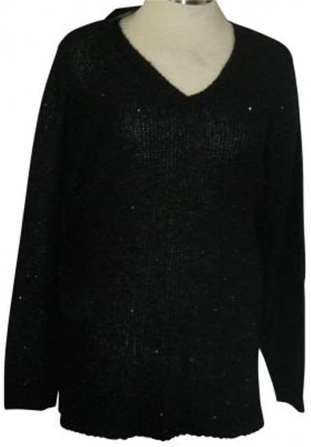 Preload https://img-static.tradesy.com/item/166554/apt-9-black-3x-w-sequins-by-loose-knit-subtle-sweaterpullover-size-26-plus-3x-0-0-650-650.jpg