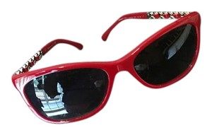 Chanel Chanel red sunglasses
