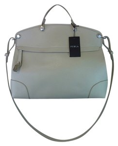 Furla Satchel in Soft Beige