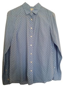 J.Crew Longsleeve Button Down Shirt BLUE
