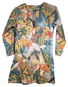 Print Cotton Floral Tunic