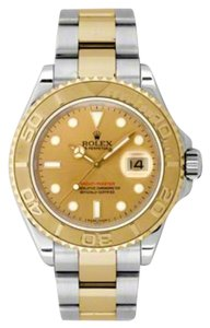 Rolex Rolex Yacht-Master Steel and Yellow Gold Champagne Dial 40mm 16623 CHSO