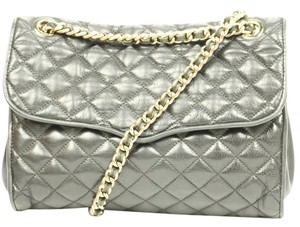 Rebecca Minkoff Rm Gold Hardware Quilted Leather Cross Body Bag