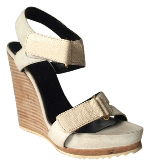 Pierre Hardy Wood White Wedges