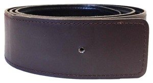 Hermès #7037 42mm H Idem Size 80 Black on Brown Reversible Belt