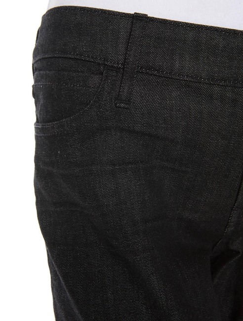 7 For All Mankind Seven Boyfriend Cropped Relaxed Fit Jeans-Dark Rinse