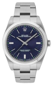 Rolex Rolex Oyster Perpetual Steel Blue Dial 39mm 114300 BLSO