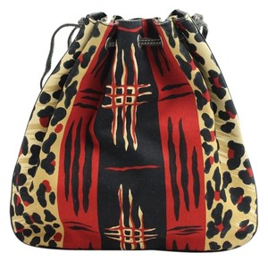 Burberry London African Leopard Cheetah Satchel in Camouflage