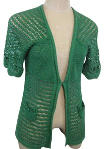 Anthropologie Knit Moth Lace Cardigan