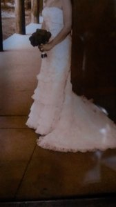 Oleg Cassini Cwg352 Wedding Dress