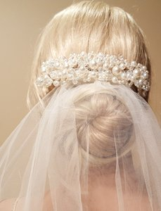 Wedding Faux Pearl Silver Plated Hair Accessorie