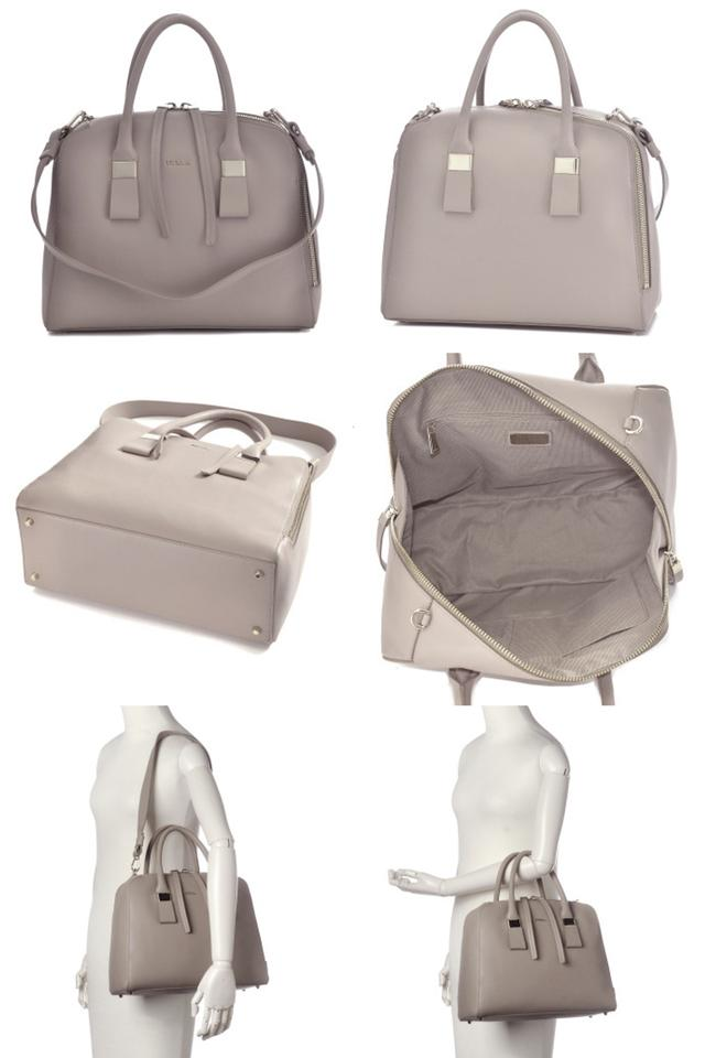 Leather Gray Mist Satchel Furla Twiggy Hw6tBxgxq