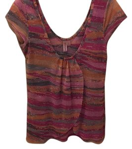 Sweet Pea by Stacy Frati Top Pink multi-color