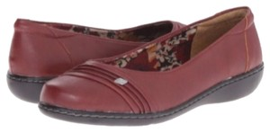 Hush Puppies Dark Red (Wine) Flats