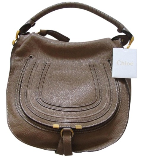 2810e688 Chloé Marcie Large Nut Leather Hobo Bag 49% off retail