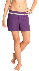 Carve Designs Surf Beach Water-repellant Spf Board Shorts Cranberry