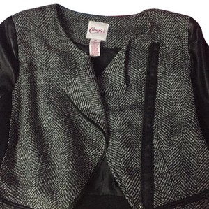 Candie's black grey and white Blazer