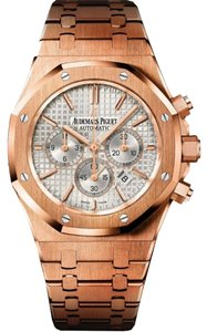 Audemars Piguet Royal Oak Chronograph Automatic 18 kt Rose Gold Men's Watch 26320OR.OO.1220OR.02