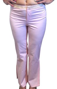 Gianfranco Ferre Straight Pants Pink