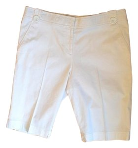 Tory Burch Crisp Bermuda Shorts White
