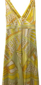 Emilio Pucci short dress Yellow and orange on Tradesy