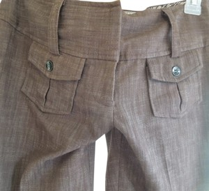 Charlotte Russe Career Slacks Sz S Trouser Pants Brown