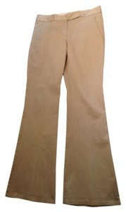 Theory Camel Size 6 Work Trouser Pants Beige