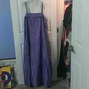 Lavendar Lavender Dress For Weddings Or Proms With Spaghetti Straps And A Sash Dress